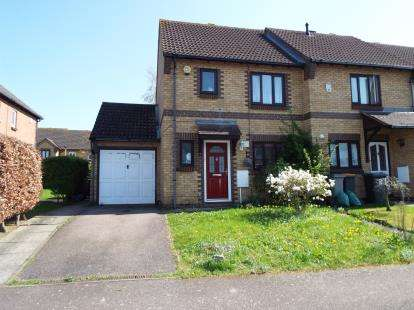 3 Bedrooms End Of Terrace House for sale in Clover Avenue, Bedford, Bedfordshire