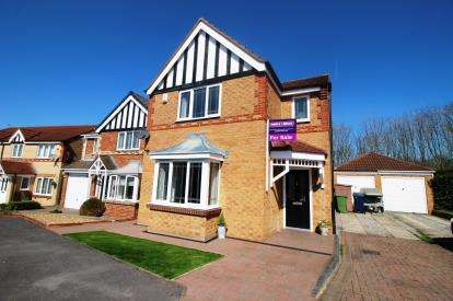 4 Bedrooms Detached House for sale in Cottonwood, Houghton Le Spring, Tyne and Wear, DH4