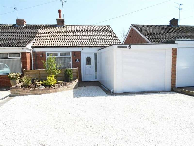 2 Bedrooms Semi Detached Bungalow for sale in Meynell Close, Wistaston, Crewe, Cheshire