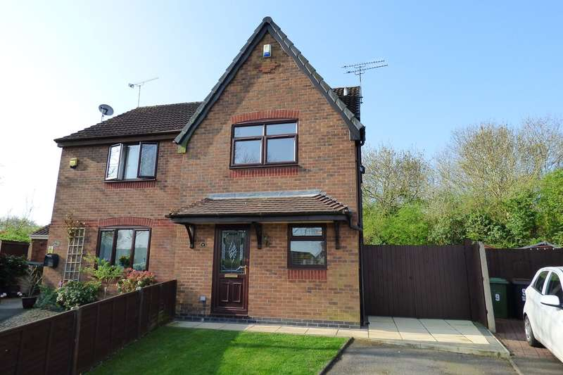 2 Bedrooms Semi Detached House for sale in Laburnum Close, Woodlands Park, Bedworth, CV12
