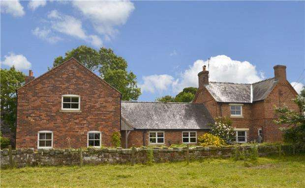 4 Bedrooms Detached House for sale in West Felton, Oswestry, Shropshire
