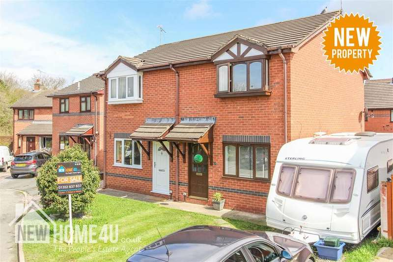 2 Bedrooms Semi Detached House for sale in Kiln Close, Buckley