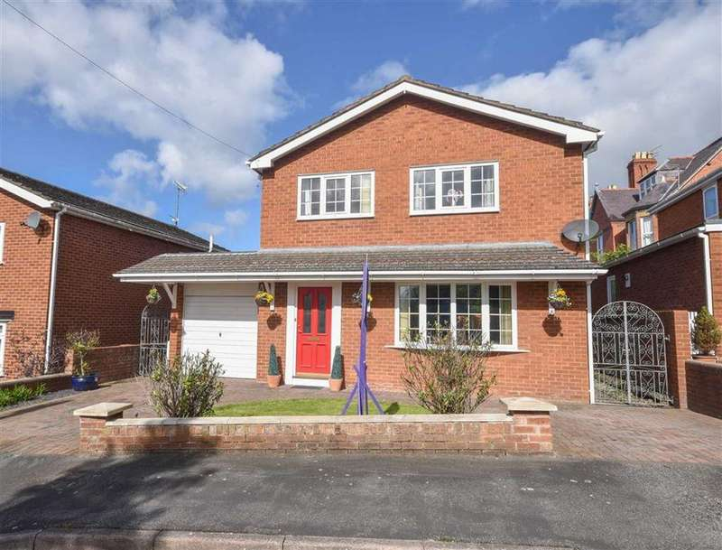 4 Bedrooms Detached House for sale in Llys Trewithan, St Asaph, St Asaph