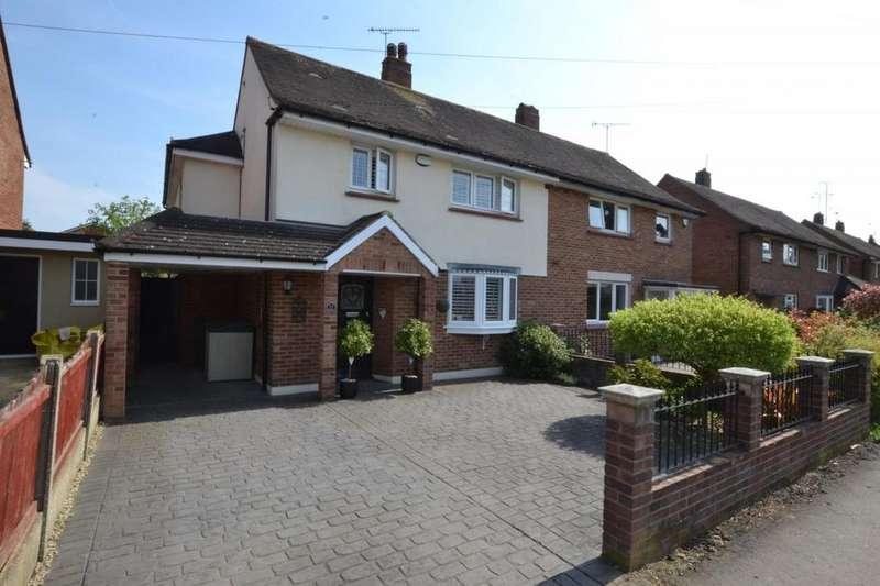 3 Bedrooms Semi Detached House for sale in Tye Common Road, Billericay, Essex, CM12