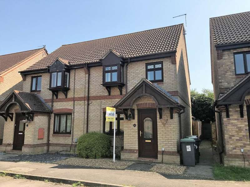 3 Bedrooms Semi Detached House for sale in Old School Walk, Arlesey, SG15