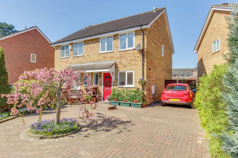 3 Bedrooms Semi Detached House for sale in Tally Ho, Highwoods, Colchester, CO4