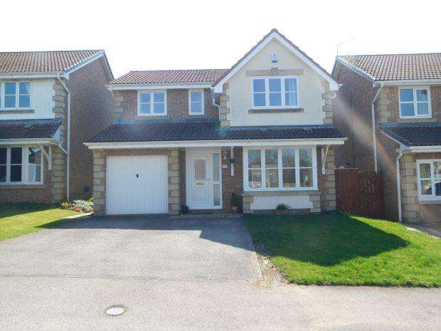 4 Bedrooms Detached House for sale in BEECHFIELD RISE, COXHOE, DURHAM CITY : VILLAGES EAST OF