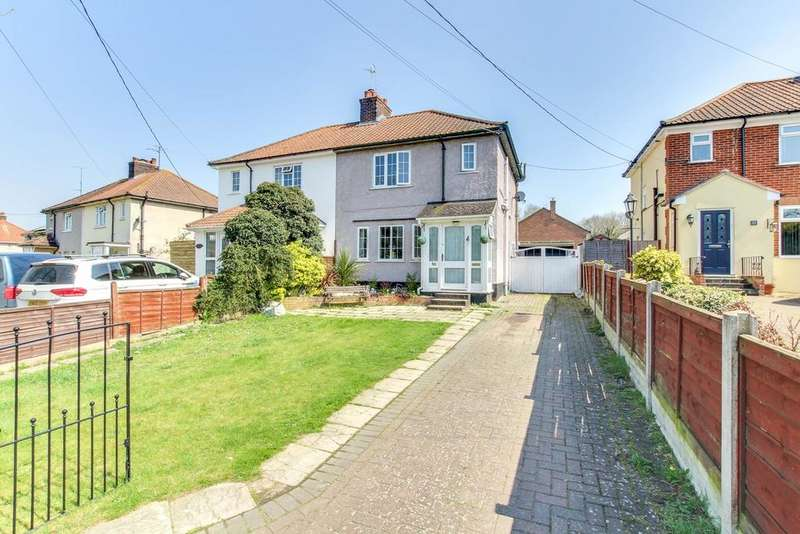 3 Bedrooms Semi Detached House for sale in Rectory Road, Rowhedge, Colchester, CO5