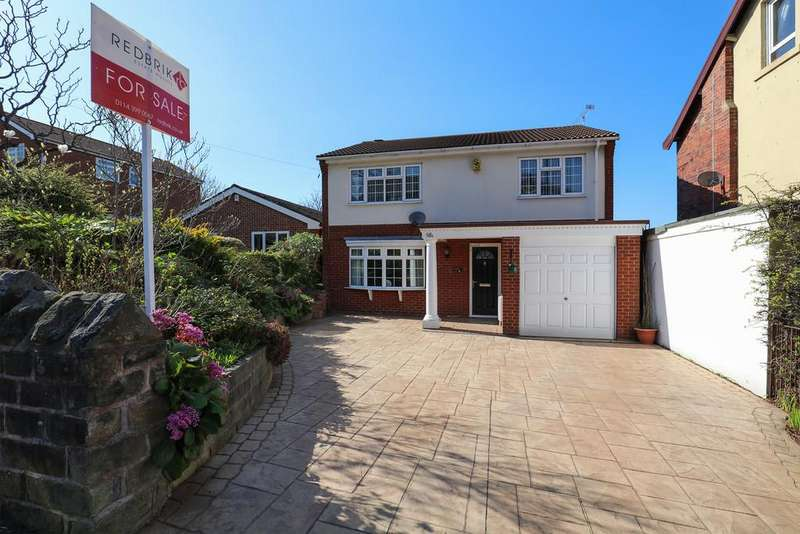 4 Bedrooms Detached House for sale in Upper Albert Road, Sheffield