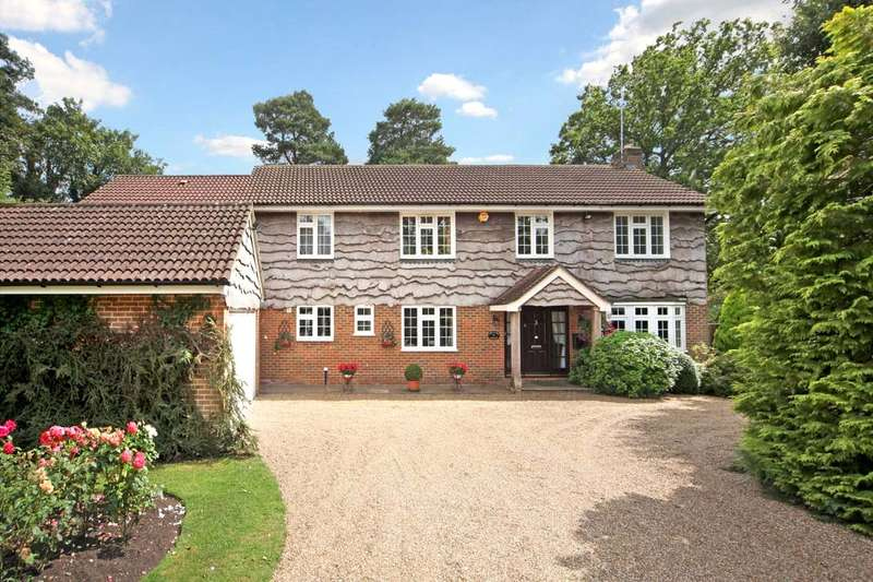 5 Bedrooms Detached House for sale in Manor House Drive, Ascot, Berkshire, SL5
