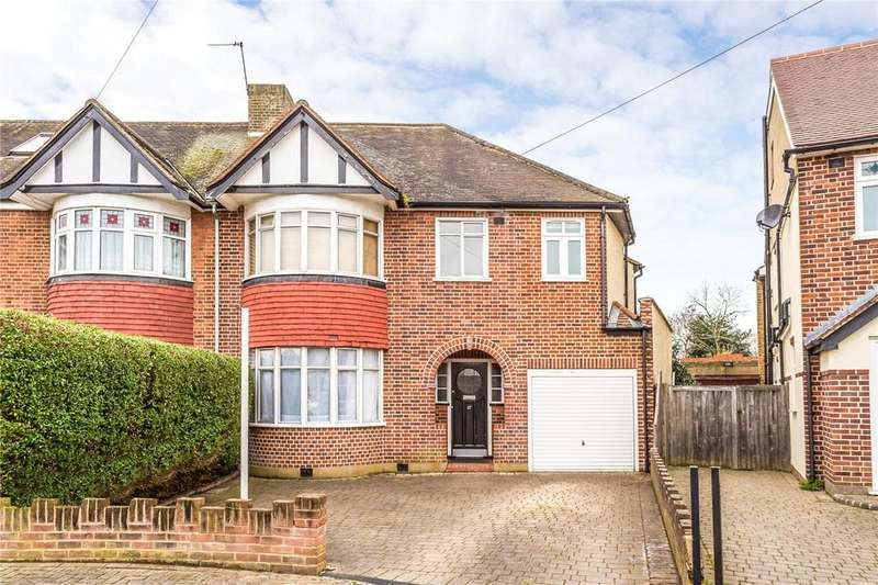 5 Bedrooms Semi Detached House for sale in Conway Gardens, Enfield, EN2
