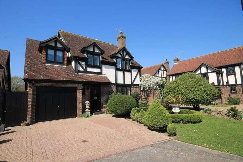 4 Bedrooms Detached House for sale in Spinnals Grove, Southwick
