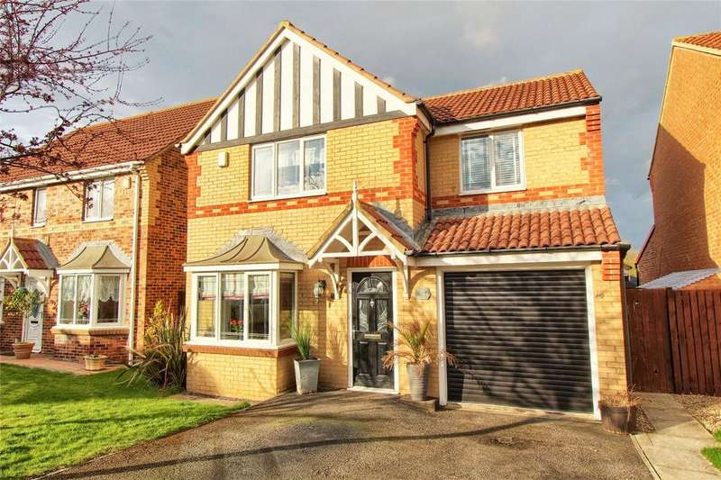 4 Bedrooms Detached House for sale in Austen Close, Wolviston Grange