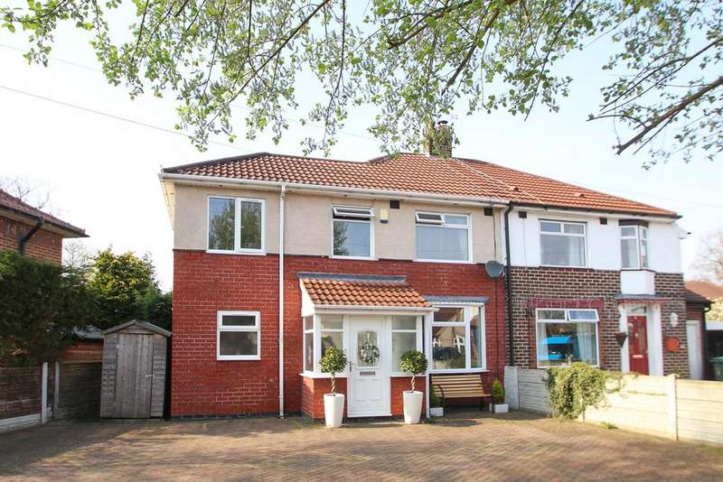 3 Bedrooms Semi Detached House for sale in Minehead Avenue, Urmston, Manchester, M41