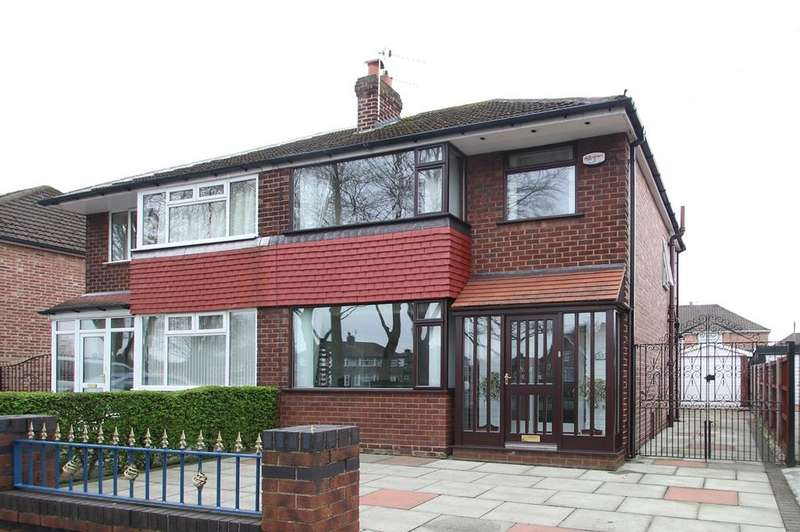 3 Bedrooms Semi Detached House for sale in Barton Road, Davyhulme, Manchester, M41