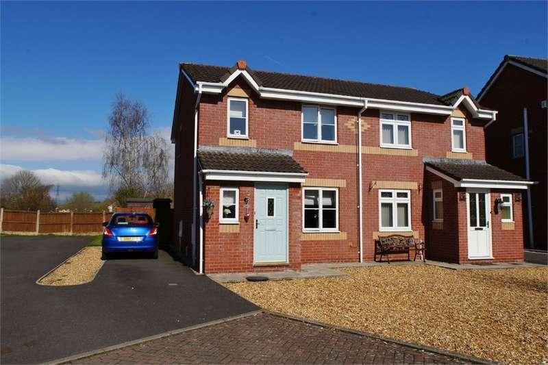 3 Bedrooms Semi Detached House for sale in CA1 3TU Watermans Walk, Carleton Grange, Carlisle, Cumbria