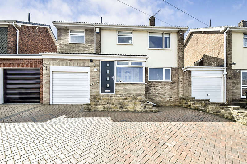 4 Bedrooms Detached House for sale in St. Patrick Road, Deepcar, Sheffield, S36