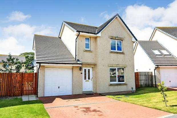 4 Bedrooms Detached House for sale in Eskywell Place, Portlethen, Aberdeen