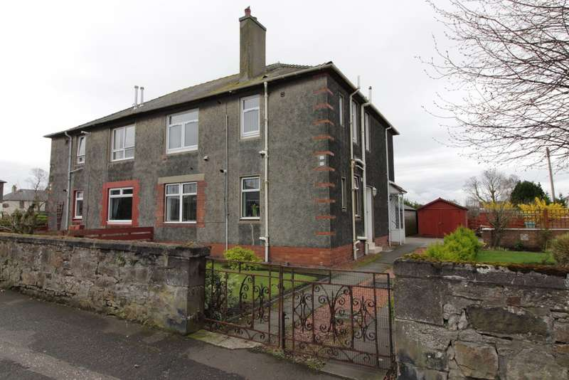 2 Bedrooms Ground Flat for sale in Seaforth Road, Ayr, KA8