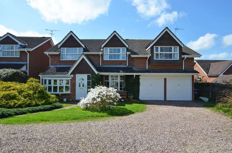 5 Bedrooms Detached House for sale in Medhurst Close, Dunchurch, Rugby