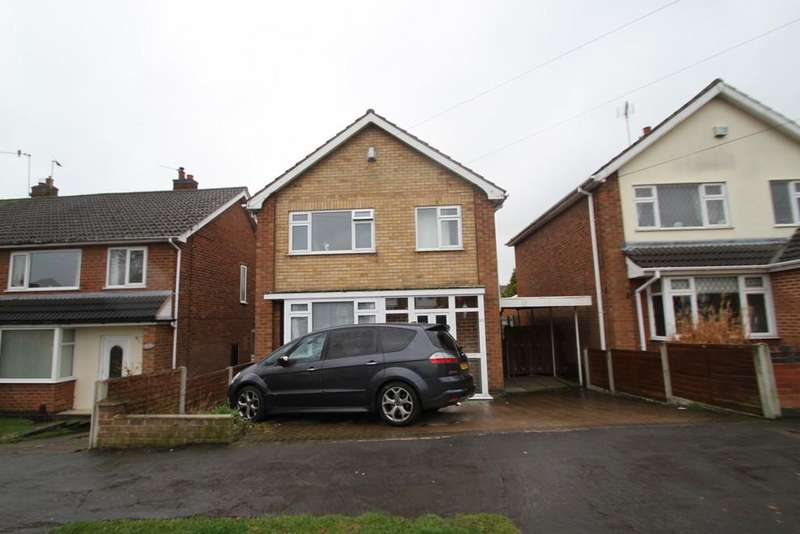3 Bedrooms Detached House for sale in Link Road, Anstey, Leicester