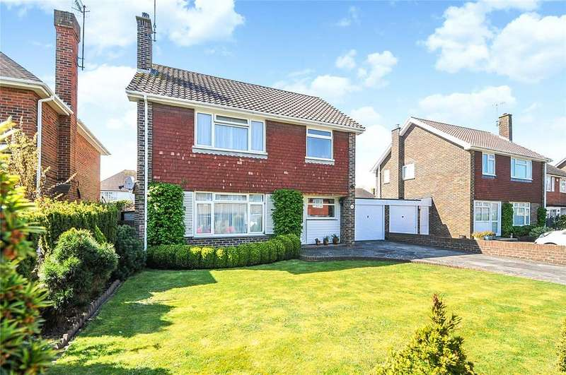 3 Bedrooms Detached House for sale in Falmer Close, Goring-by-Sea, Worthing, West Sussex, BN12