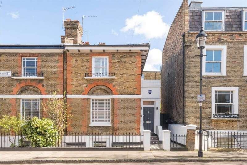 3 Bedrooms Semi Detached House for sale in Lambert Street, Barnsbury, Islington, London