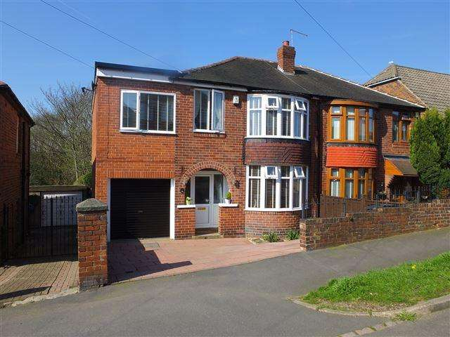 4 Bedrooms Semi Detached House for sale in Bramley Avenue , Sheffield , S13 8TU