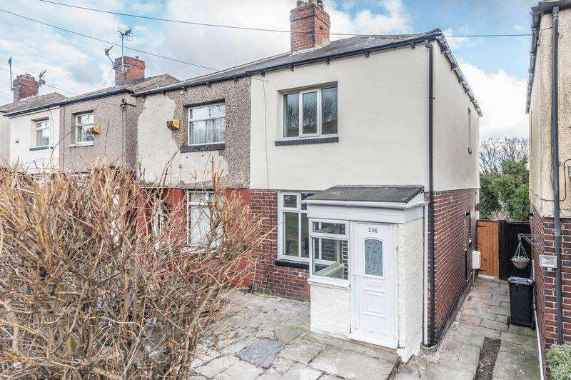 2 Bedrooms Semi Detached House for sale in Rutland Road, Sheffield 3, S3 9PR - NO CHAIN INVOLVED - EARLY COMPLETION AVAILABLE