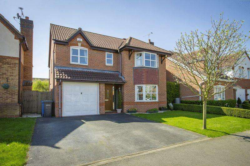 4 Bedrooms Detached House for sale in CROWN WAY, CHELLASTON