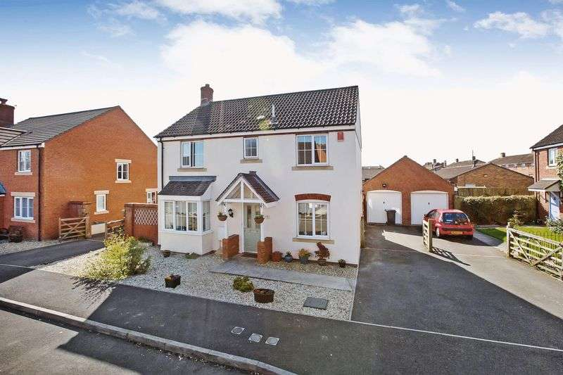 4 Bedrooms Property for sale in Moravia Close, Bridgwater