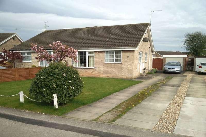 2 Bedrooms Semi Detached Bungalow for sale in Copwood Grove, Wigginton, York, YO32
