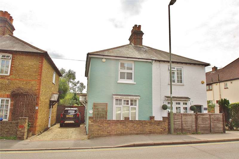 2 Bedrooms Semi Detached House for sale in Stanley Cottages, Anchor Hill, Knaphill, Woking, GU21