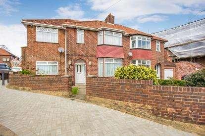 4 Bedrooms Semi Detached House for sale in Lodore Gardens, Kingsbury, London, Uk