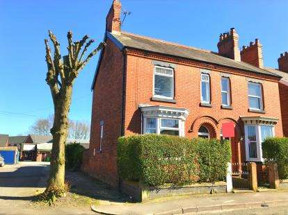4 Bedrooms Semi Detached House for sale in Wharton Road, Winsford, Cheshire