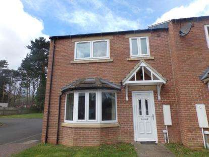 3 Bedrooms Semi Detached House for sale in Cottages Beck Court, Catterick Garrison, North Yorkshire