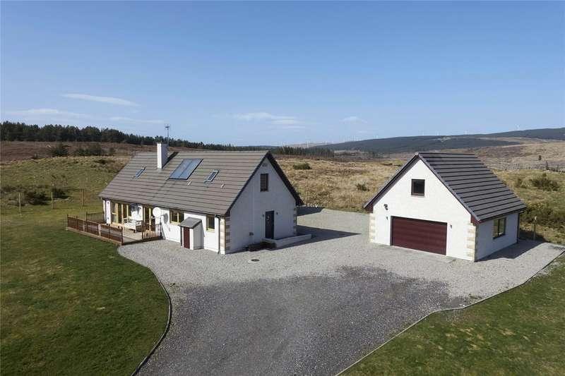 3 Bedrooms Detached House for sale in Kinvara, Altass, Lairg, IV27