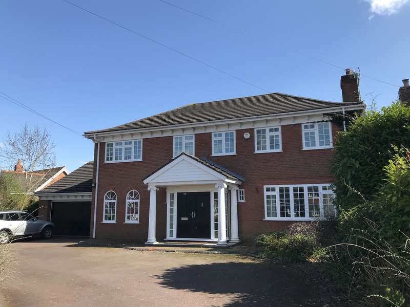 4 Bedrooms Detached House for sale in Whitefields Road, Solihull, B91 3NY