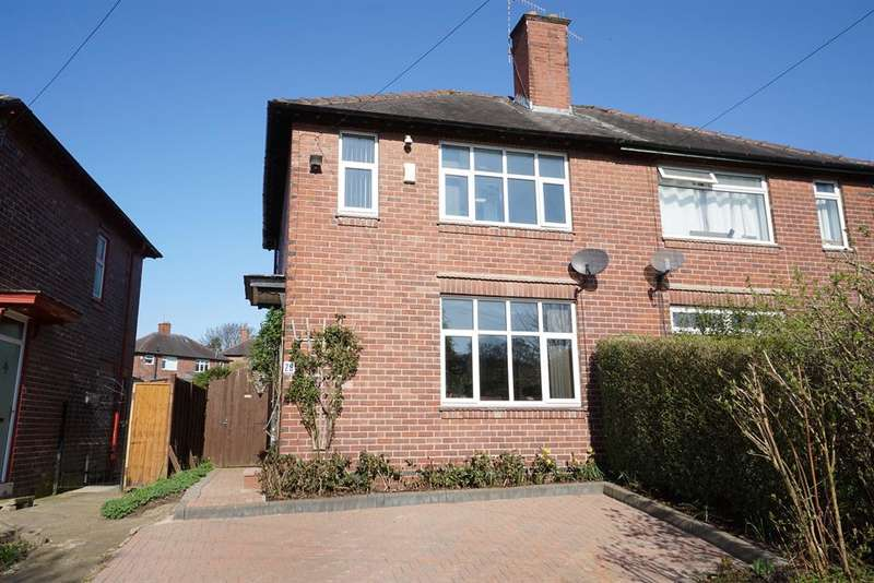 3 Bedrooms Semi Detached House for sale in Glover Road, Totley, Sheffield, S17 4HN