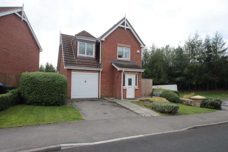 3 Bedrooms Detached House for sale in The Chequers, Consett