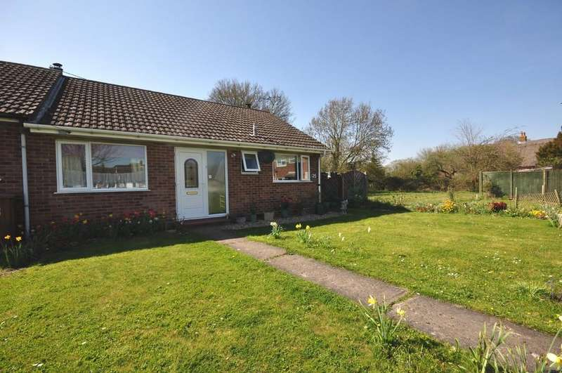 3 Bedrooms Terraced Bungalow for sale in Broadfields Close, Gislingham