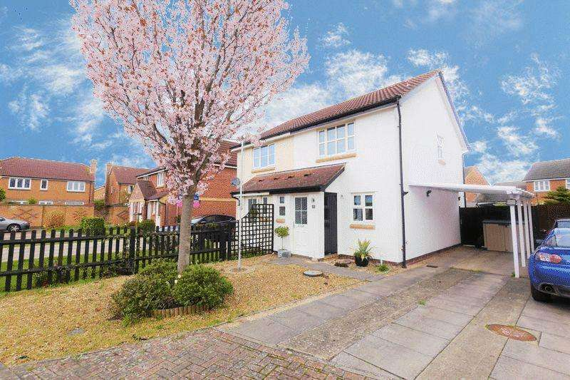 2 Bedrooms Semi Detached House for sale in Weavercroft, Didcot
