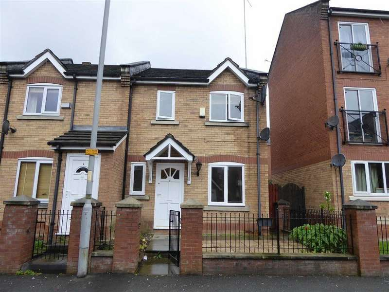 3 Bedrooms Semi Detached House for rent in Nash Street, Hulme