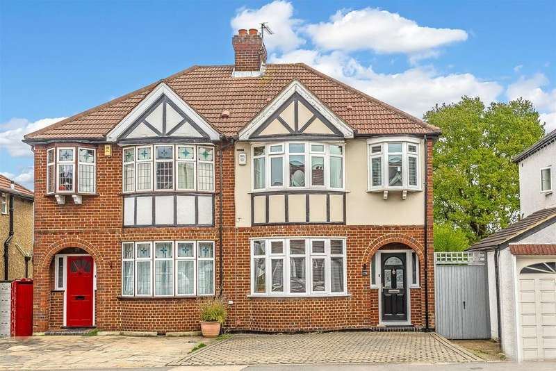 3 Bedrooms Semi Detached House for sale in Malden Road, Sutton