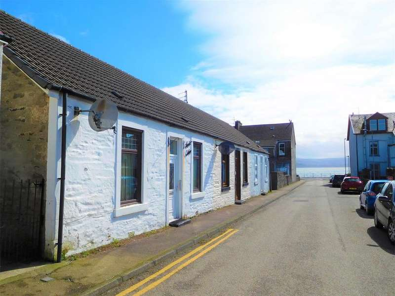 1 Bedroom End Of Terrace House for sale in 6 Nile Street, DUNOON, PA23 8AG