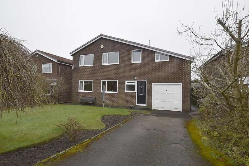4 Bedrooms Detached House for sale in Greendale Close, Cliviger BB10 4TU