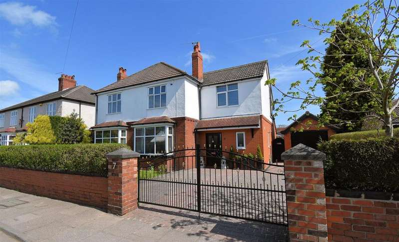 4 Bedrooms Detached House for sale in Hassall Road, Alsager