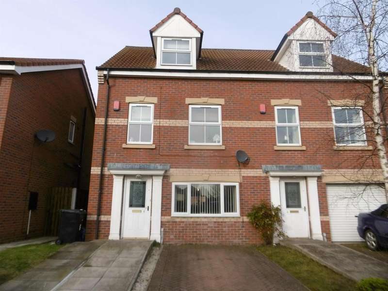 4 Bedrooms Semi Detached House for sale in Heather Close, Gainsborough, DN21 1GP