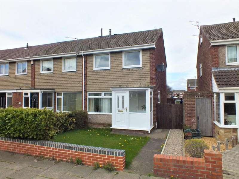 2 Bedrooms End Of Terrace House for sale in Kingfisher Way, South Beach Estate, Blyth