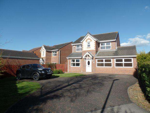 4 Bedrooms Detached House for sale in JOYCE GROVE, PETERLEE, PETERLEE